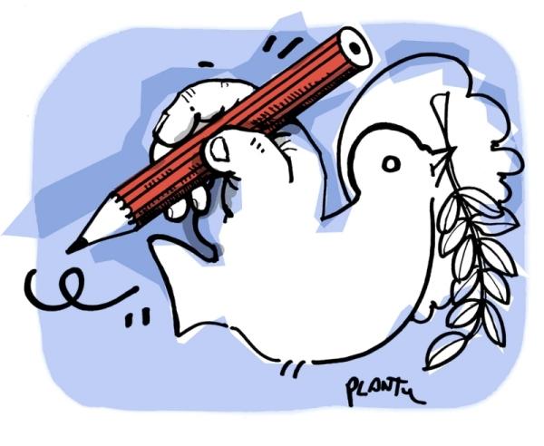 La liberté d'expression vue par Plantu